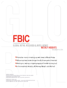 FBIC Global Retail Research Weekly Insights Nov.14