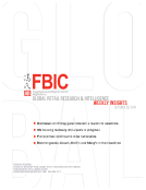 FBIC Global Retail Research Weekly Insights Oct. 29