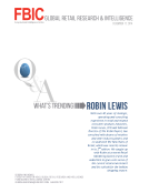 FBIC Global Q_A Whats Trending With Robin Lewis Dec.11.2014
