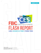 FBIC Retail Tech Flash Report from CES Global Electronics Spending Jan. 4 2015_EDITED