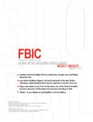 FBIC Global Retail Research Weekly Jan. 2