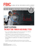 FBIC Global Retail Tech Report on SMART CLOTHING Feb. 9 2015
