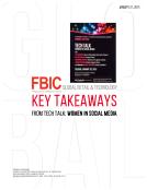 FBIC Global Retail Tech Key Takeaways from Women in Tech and Social Media  Jan. 20 2015