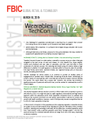 Flash Report from Wearables TechCon Day 2 Mar. 11 FINAL NEW