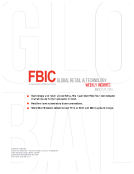 FBIC Global Retail & Technology Research Weekly Insights Mar. 27, 2015