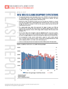 New Jobless Claims in the US  Flash by FBIC Global Retail and Technology