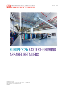 Europes 25 Fastest-Growing Major Apparel Retailers