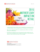 FBIC Global Retail Tech Quick Take on Mothers Day 2015 May 8