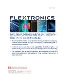 FBIC Global Retail Tech Report on Flextronics Investor Day_V2