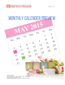 FBIC Monthly US Calendar Preview May 2015
