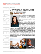 FLASH REPORT on 2 new CEOs May 8