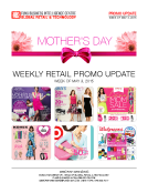 Promo Update May 3 Mothers Day