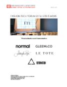 FBIC Global Retail Tech Quick Take on Fashion Tech Forum 2015