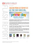 Amazon Prime Day Flash Report 2 by FBIC Global Retail Tech