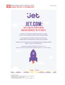 Jet.com vs. Amazon Quick Take by FBIC Global Retail Tech July 20 2015