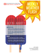 Weekly Weather Flash by FBIC Global Retail Tech July 22