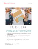 Quick Take on Stitch Fix by FBIC Global Retail & Technology