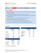 Weekly Europe Macroeconomic Update 8.25