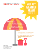 Weekly Weather Flash by FBIC Global Retail Tech Aug 21