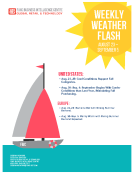 Weekly Weather Flash by FBIC Global Retail Tech Aug 28