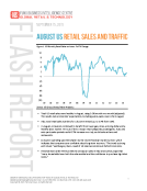 August 2015 US Retail Sales and Traffic Report by FBIC Global Retail Tech Sept. 15