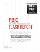 FBIC GLOBAL Flash Report Black Friday 2014 Nov. 28