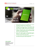 Quick Take on Mobile Payment by FBIC Global Retail Tech Sept 17 2015