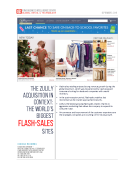 Quick Take on Top Flash Sales by FBIC Global Retail Tech Sept. 3