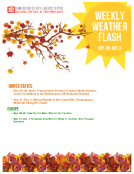 Weekly Weather Flash by FBIC Global Retail Tech Sept.22