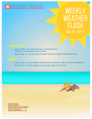 Weekly Weather Flash by FBIC Global Retail Tech Sept. 4th 2015