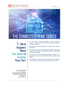 Connected Homes Report 1 by FBIC Global Retail Tech Oct 22