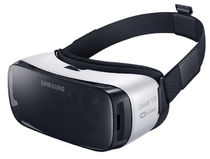 7 Samsung's Gear VR device