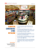 European C-Stores Report by FBIC Global Retail Tech Dec. 2015