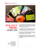 Global Retail Loyalty Programs Report by FBIC Global Retail Tech Dec 2015