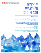 Weekly Weather Flash by FBIC Global Retail and Tech Dec 1