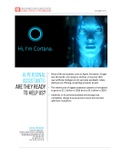 AI Personal Assistants Report By FBIC Global Retail Tech Dec. 2015