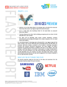 CES 2016 Preview by FBIC Global Retail Tech Jan. 3 2016