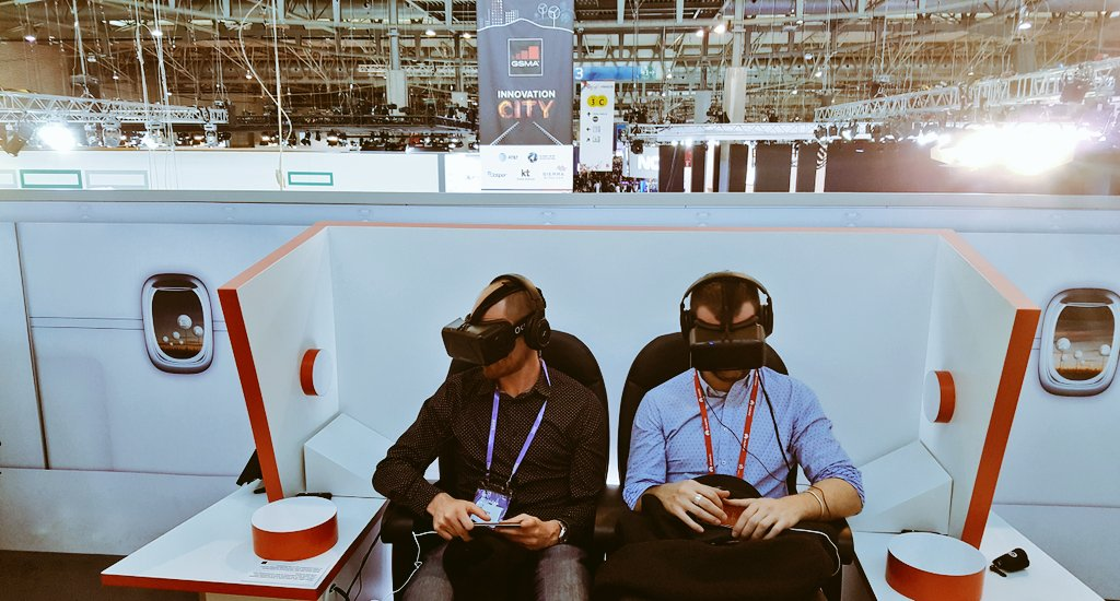 VR pet wearable gives more peace of mind. Innovation City at MWC 16.