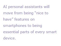 AI personal assistant