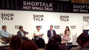 Shoptalk panel titled Venture Capital Perspectives on Retail and Consumer Investing: Part 2