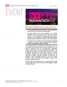 New York Fashion Tech Lab Demo Day 2016 by FBIC Global Retail and Technology June 16 2016