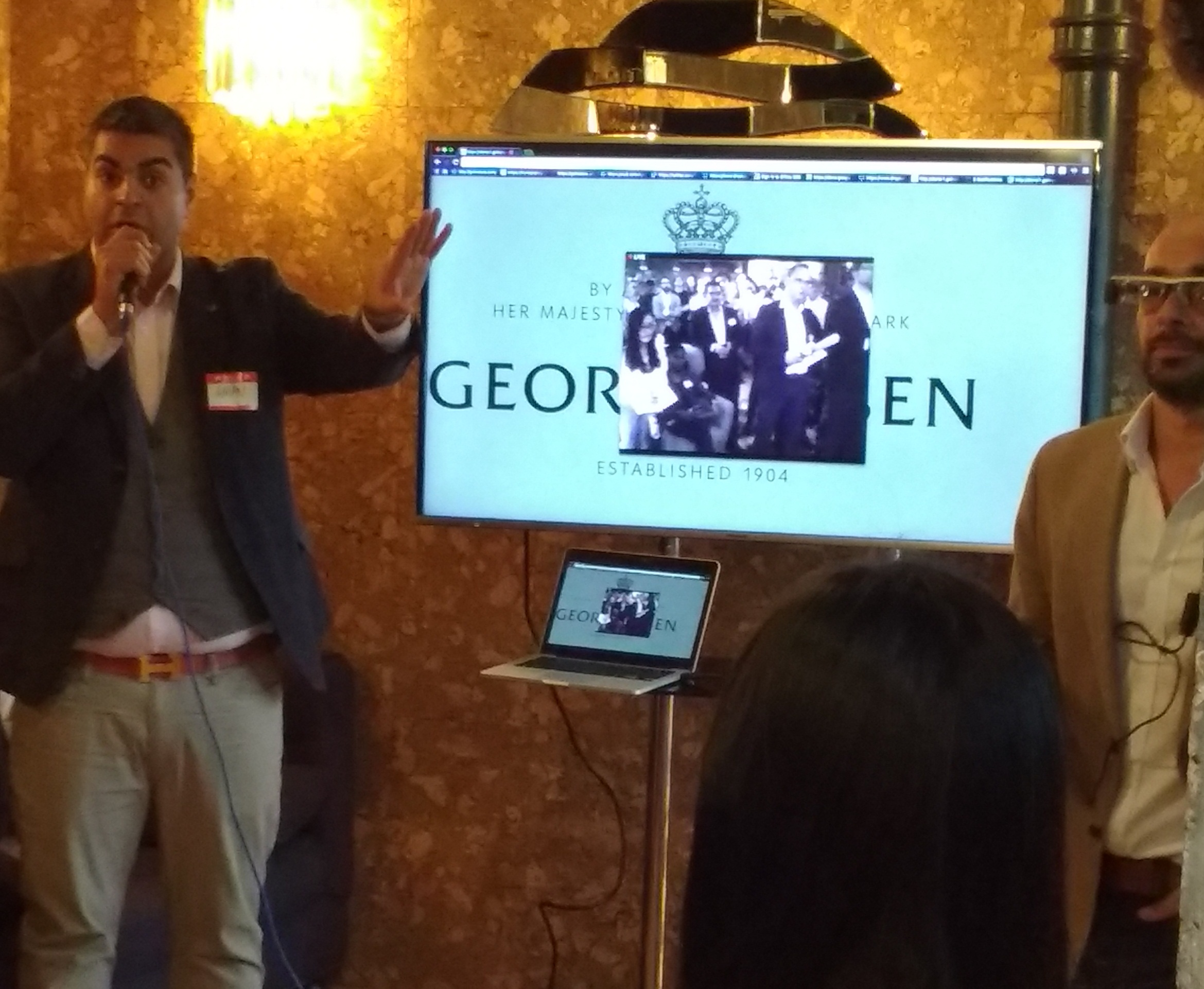 GoInStore at the Tech London Advocates event