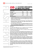 CVS 2Q16 Earnings Results by Fung Global Retail Tech August 2 2016
