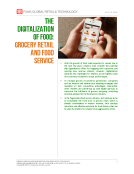 Digitalization of Food by Fung Global Retail Tech July 14 2016