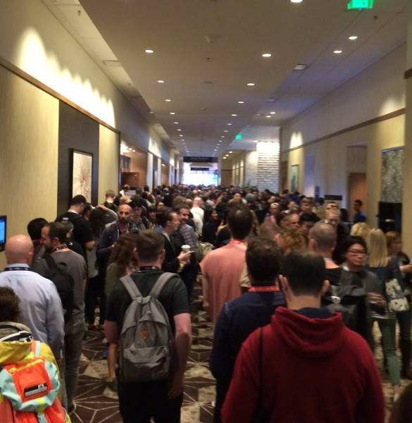 Crowd Between Sessions at SXSW 2017; Source: Fung Global Retail & Technology
