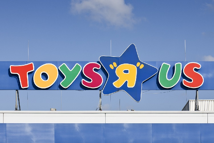 "Toys ""R"" Us Sign"